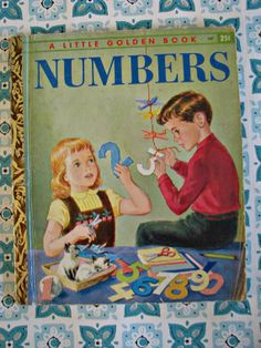 Little Golden Book of Numbers.  Missed getting this on Etsy.