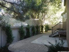 Expand the existing patio.