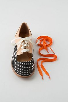 I would just like to say YES to the orange laces. Get them in there. {anthropologie}