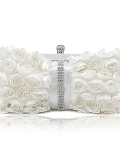 Gorgeous Silk With Austria Rhinestones Party Clutches More C... – USD $ 16.99