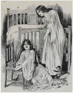 "Modern British Art Works by Lillian May Bevis Rowles: ""Sisters, circa Walker Art, Art School, Sisters, Art Gallery, Drawings, British, Prints, Modern Art, Illustration Art"