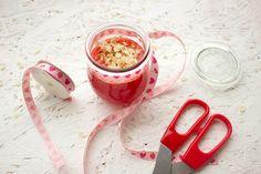Einladung zum Essen: Erdbeer-Prosecco-Marmelade