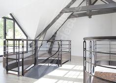 photo dh90 garde corps cintr m tallique contemporain et design en protection vide tr mie. Black Bedroom Furniture Sets. Home Design Ideas