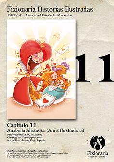Alicia en el País de las Maravillas   Anabella Albanese (Anita Ilustradora) -- www.fixionaria.com.ar