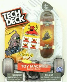 Mini Fingerboards Toy Machine Skateboards Series 13 Jeremy Leabres Valentine Complete Deck