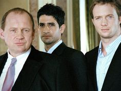 Peter Firth, Raza Jaffrey, Rupert Penry-Jones