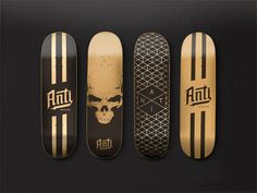 Anti Brand - Hand Painted Skateboards