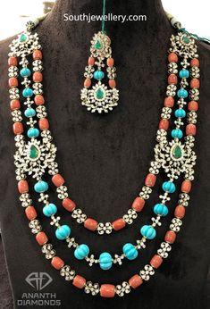 Emerald Jewelry, Gemstone Jewelry, Gold Jewelry, Jewelery, Diamond Jewelry, Diamond Choker, Trendy Jewelry, Gold Jewellery Design, Bead Jewellery