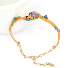 Find More Charm Bracelets Information about Lovely Fox Vine Gem Bracelet Bangles For Women Good Gift Lady Party Jewelry Good Quality,High Quality bangle silver,China bracelet perfume Suppliers, Cheap bangles for small wrists from warmhome jewelry on Aliexpress.com