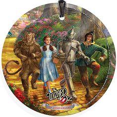 Round Thomas Kinkade Wizard of Oz Ornament - Ornament Reviews