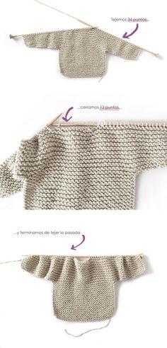 Knitted Kimono – NUR Baby Jacket Pattern & Tutorial - How to make a Knitted K., Knitted Kimono – NUR Baby Jacket Pattern & Tutorial - How to make a Knitted Kimono Baby Jacket – Free knitting Pattern & tutorial - Baby Sweater Patterns, Baby Sweater Knitting Pattern, Baby Patterns, Free Baby Knitting Patterns, Knit Patterns, Knit Baby Sweaters, Sewing Patterns, Vogue Patterns, Mohair Sweater