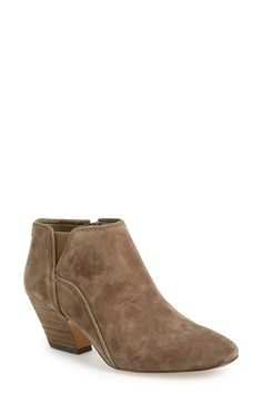 Think I need these in Light Grey Suede!  Ivanka Trump 'Rumi' Almond Toe Ankle Bootie (Women) available at #Nordstrom