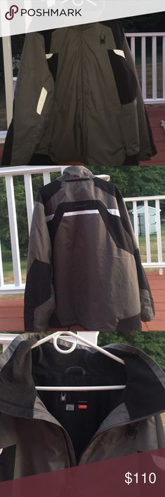 spyder jacket brand new ! never worn in perfect condition spyder Spyder Jackets & Coats