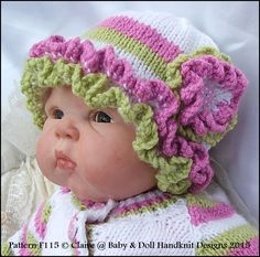 d708e8e18 121 Best Baby   Doll Handknit Designs images