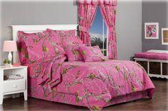 New Realtree Hot Pink Camo Bedding Set #realtree #camobedding