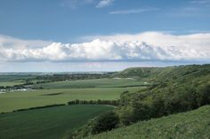 The view from Dunstable Downs.