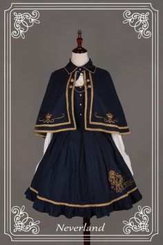 Soufflesong is an indie Lolita fashion brand based in China. We design and sell our own lines of Gothic, Classic and Sweet Lolita fashion to worldwide. Old Fashion Dresses, Fashion Outfits, Fashion Shirts, Mode Halloween, Pretty Dresses, Beautiful Dresses, Mode Lolita, Lolita Style, Gothic Lolita Dress