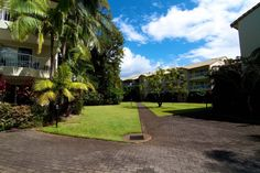 Paradise Grove Holiday Apartments - Spacious grounds - Burleigh Heads Family Resorts