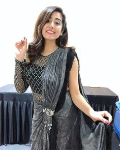 Silk Blouse Designs for your Saree Black Blouse Designs, Netted Blouse Designs, Choli Blouse Design, Saree Blouse Neck Designs, Saree Designs Party Wear, Designer Party Wear Dresses, Stylish Blouse Design, Designer Blouse Patterns, Stylish Sarees
