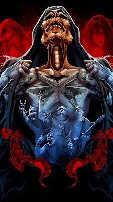 WALLPAPERS - Gothic, skulls, death, fantasy, erotic and animals: SKULL & DEATH