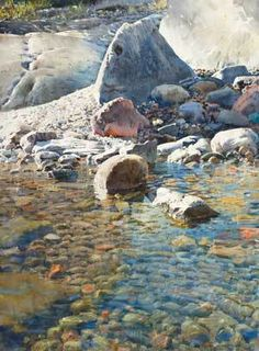 This watercolor artist is amazing! I like his work, but particularly like the way he paints water. -- 06.24.13 Stanislaw Zoladz 1094 morgon Ijus