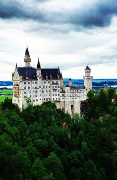 Tucked away in the German countryside is this castle. If the architecture itself doesn't wow you, the spect...