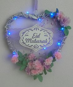 Etsy :: Your place to buy and sell all things handmade Eid Mubarak Messages, Eid Mubarak Quotes, Eid Quotes, Eid Mubarak Images, Eid Mubarak Wishes, Eid Mubarak Greetings, Eid Greeting Cards, Eid Cards, Ramadan Crafts