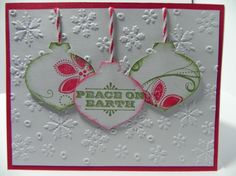 Stampin' Up Season of Joy, Merry and Type