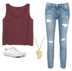 """""""how to wear converse in the summer"""" by neversleepkid on Polyvore featuring Monki, Current/Elliott, Converse, Sonal Bhaskaran and howtoconverse"""
