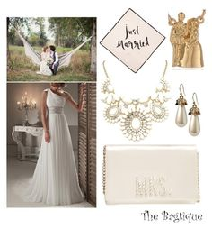Miss to Mrs by thebagtique on Polyvore featuring polyvore, fashion, style, Kate Spade and Bagtique