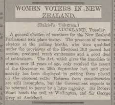 Image result for women vote nz
