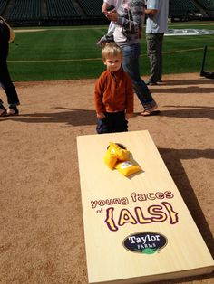2013 YFALS Corntoss Challenge: One of the many young faces of ALS