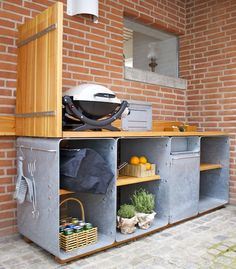 Outdoor Kitchen from OUTSIDEdesign