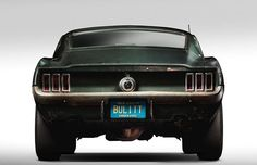 The original Highland Green Mustang driven by the legendary Steve McQueen in Bullitt, this car has been owned by the same family since 1974