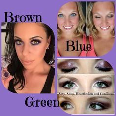 Visit stunninglashesbysheree.com to check them out #eyeshadow #eyes #color #younique