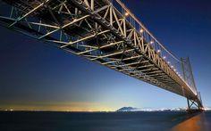 Akashi Kaikyo Bridge HD Wallpapers
