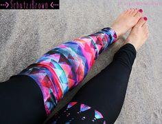 LEGGING - 'KIANA' Style Legging for #SURF,  #Yoga, #Running, #Biking, #wakeboard #surfleggings #schatziBrown