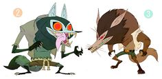 Character Designs by Fabien Mense