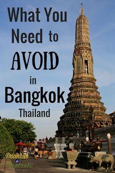 Avoid Bangkok - Pin