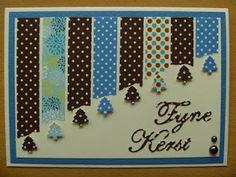 Miranda's Creaties: Washi-challenge: de inzendingen + winnaar Tape Crafts, Fun Crafts, Diy And Crafts, Washi Tape Cards, Masking Tape, Paint Chip Cards, Tape Art, Button Cards, Decorative Tape