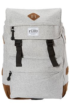 The Rucksack in Dark Melton by Flud Watches. For the man.