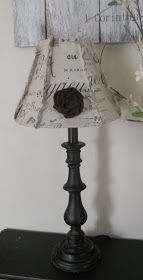 {createinspire}: Lamp Shade Makeover