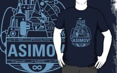 Forever Asimov (light blue)