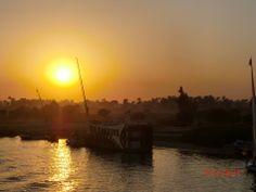 Rio Nilo. Luxor,