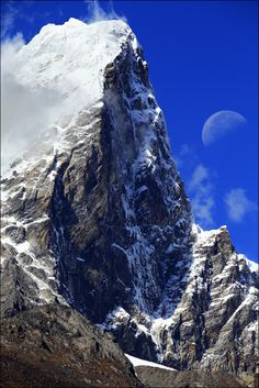 Mt. Everest, Kathmandu, Nepal. Someday I'll reach atleast base camp :p