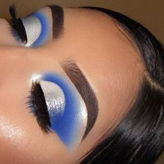199 glamour makeup ideas for black women you must have – page 1 Makeup Eye Looks, Eye Makeup Art, Colorful Eye Makeup, Beautiful Eye Makeup, Cute Makeup, Pretty Makeup, Eyeshadow Makeup, Easy Makeup, Cute Eyeshadow Looks