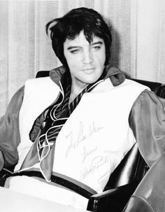 """takingcare-of-business: """" Elvis Presley during a press conference at Houston Airport Terminal, Texas, February 25, 1970. """""""