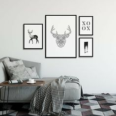 Be it digital art or simple graphical designs, deers can make anything look gracious. Checkout the Animal category on the website to grace your walls with some amazing collection. #deer #animallover #animalposter #digitalart #posterlife #printdesign #graphicdesign #posterdesign