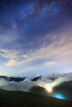 合歡星空 |大同村, Taiwan
