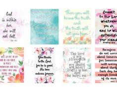 SET B bible scripture planner stickers HAPPY by DixonDollCreates